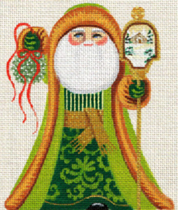 Leigh Designs Mistletoe Santa 8336