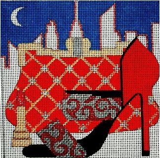 Melissa Prince Designs Paint the Town Red MPD A 191