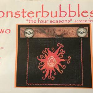 Monsterbubbles The Four Seasons Screen Frame & Hardware Kit