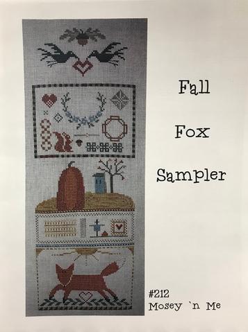 Mosey n Me Fall Fox Sampler