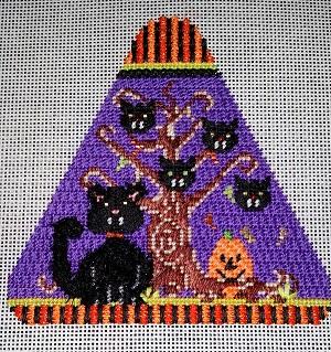 NeedleDeeva Cats Haunted Firs 429F