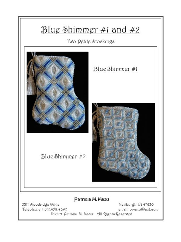 Pat Mazu Blue Shimmer 1 and 2