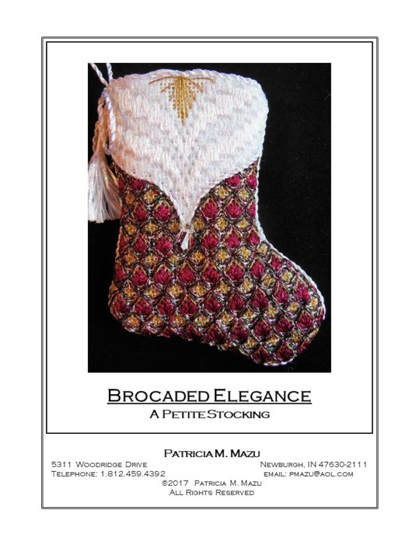 Pat Mazu Brocaded Elegance