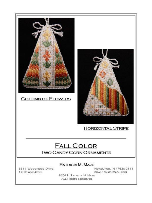 Pat Mazu Candy Corn - Fall Color 1 & 2