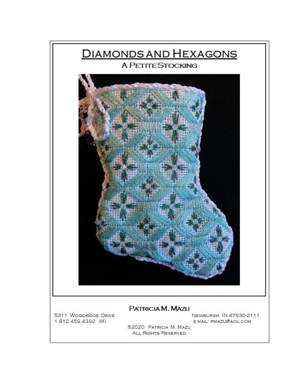 Pat Mazu Diamonds and Hexagons