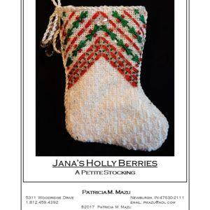 Pat Mazu Jana's Holly Berries