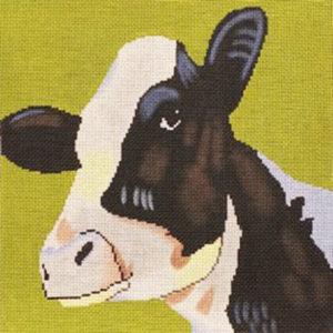 Patti Mann Cow on Olive 50005