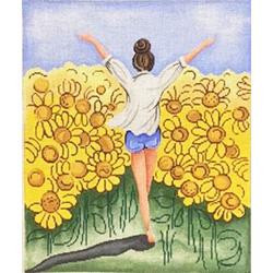Patti Mann Sunflower Fields 20039 RHD