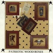 Prairie Moon Patriotic Wood Boxes