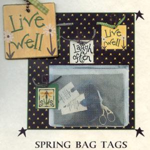 Prairie Moon Spring Bag Tag Live Well