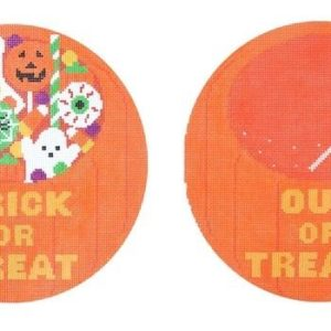 Rachel Donley Trick or Treat and Out of Treats 2 Sided RD123