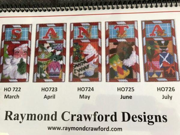 Raymond Crawford S-A-N-T-A HO722-726