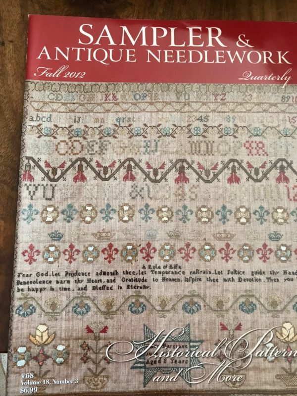 Sampler & Antique Needlework Fall 2012