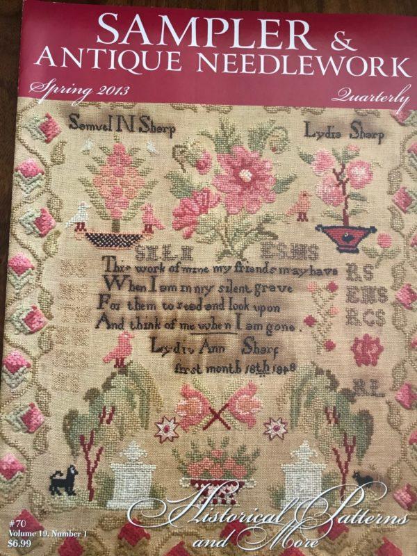 Sampler & Antique Needlework Spring 2013