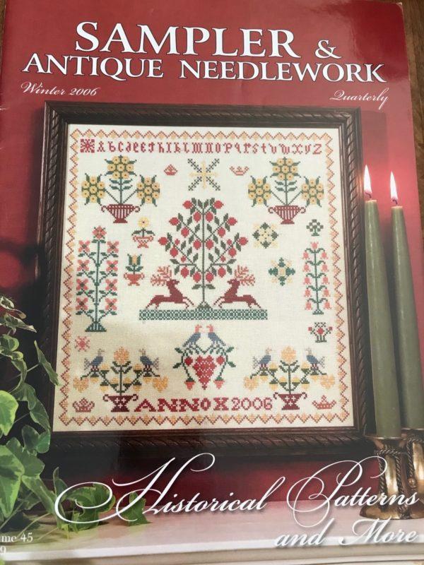 Sampler & Antique Needlework Winter 2006