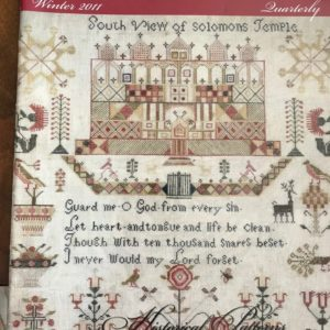 Sampler & Antique Needlework Winter 2011