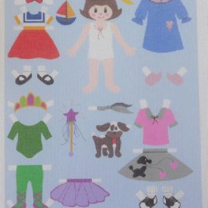 Sandy Grossman Morris Paper Dolls PID026-F