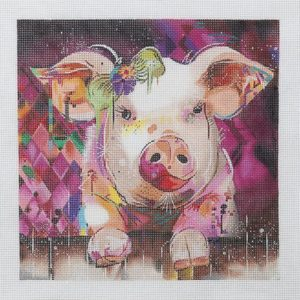 Strictly Christmas Holiday Pig by Connie Haley 01