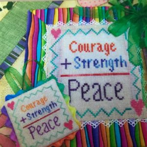 The Sunflower Seed Courage, Strength, Peace
