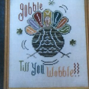 The Sunflower Seed Gobble Till You Wobble
