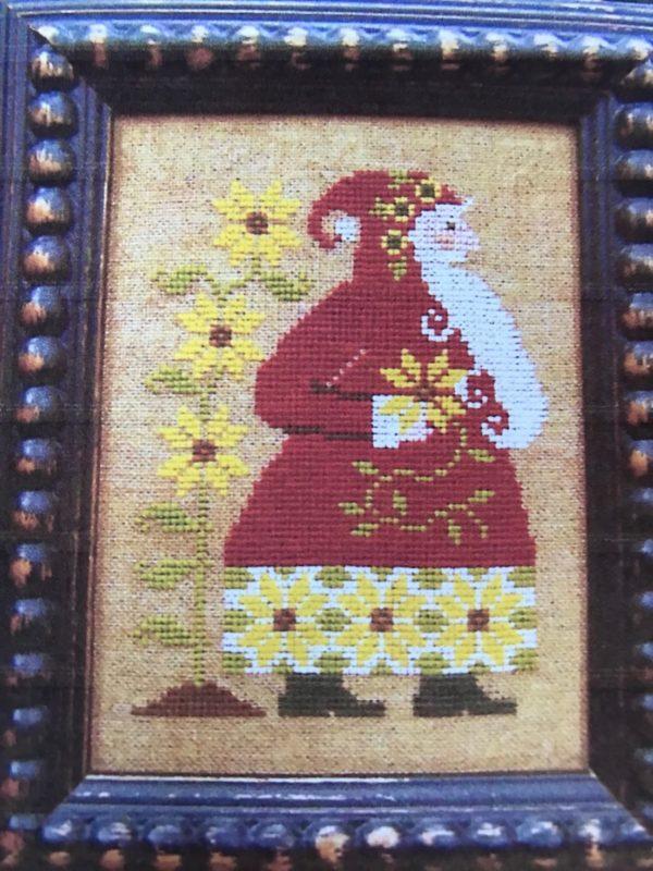 The Sunflower Seed Sunflower Santa