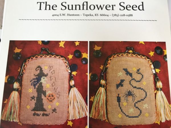 The Sunflower Seed Witches Potion Purse