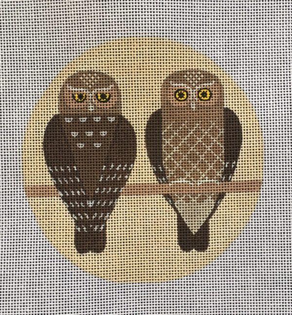VNG Elf Owls Ornament SP-009
